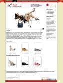 Интернет-магазин обуви (яркий)